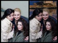 изменения фона фото