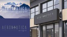 Aeronautika - логотип магазина одежды
