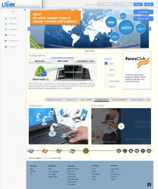 Разработка сайта BrokerCapital