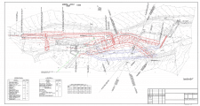 План сооружения на топосъемке 2