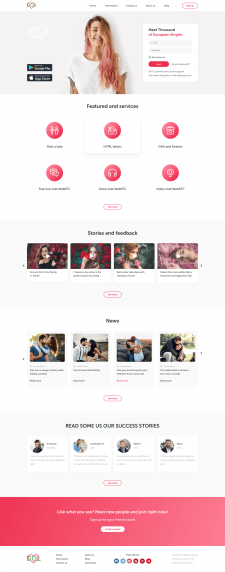 Сайт знакомств DOL
