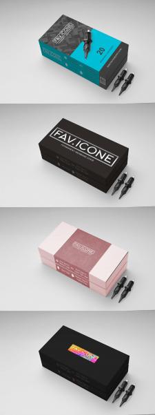 Дизайн для упаковки FAV.ICONE