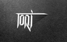 Логотип диджея