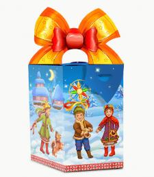 Дизайн упаковки конфет на Новый год и Рождество