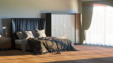 Визуализация интерьера с мебелью 500р кв.м.