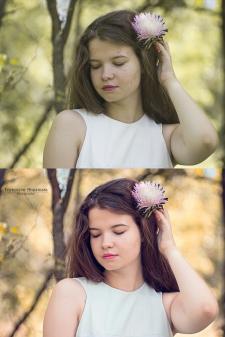Обработка портретных фото