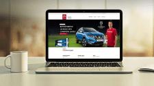 Сайт диллера Nissan в г. Ровно