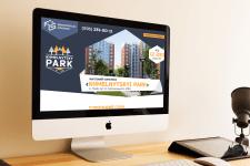 """Разработка landing page для ЖК """"Khmelnytskyi park"""""""