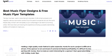 Music Flyer Designs & Free Music Flyer Templa