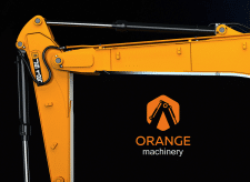 Orange Machinery Trade Company Logo
