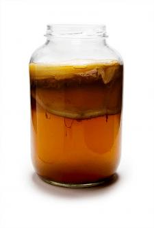 Кейс по рекламе для напитка из чайного гриба