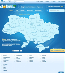 Сайт посуточной аренды - Doba