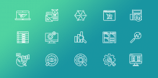 Иконки для сайта компании Centum-D