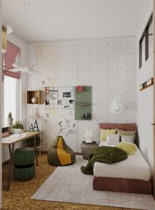 Квартира в современном стиле (детская)