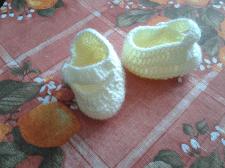 Пинетки новорожденному