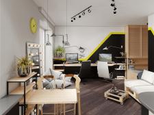 Проект Дизайн квартиры студио