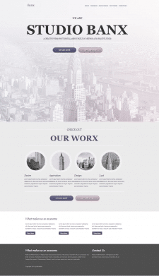 Layout of sites from psd-layouts 2