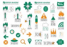 Стикеры для «Юрия-фарм»