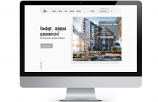 Дизайн для агенства нерухомості «Комфорт» landing