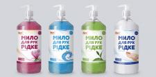 Этикетка жидкого мыла для рук - Мега Завхоз