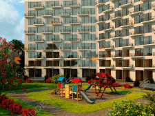 "3D Visualization Of Apartments ""Molodezhnyy"" #4"