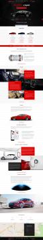 Landing page для продажи Tesla в Украине