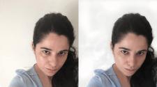 Портретная ретушь предложенного любительского фото