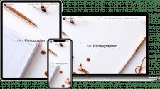 Лендинг: портфолио фотографa