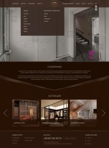 Vista Style - дизайн сайта