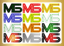 Двубуквенный именной логотип - 2