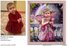 Детский портрет в образе