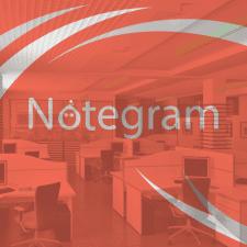 """Логотип """"Notegram"""""""