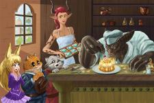 Иллюстрация на конкурс