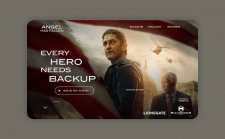 Промо - сайт для фильма