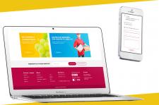 Дизайн сайта для Vinograd