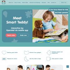 Магазин электронной игрушки для детей Smart Teddy