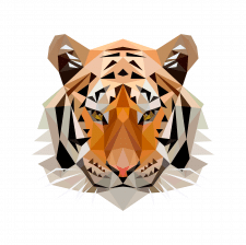 lowpoly_tiger