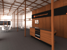 3d офис компании