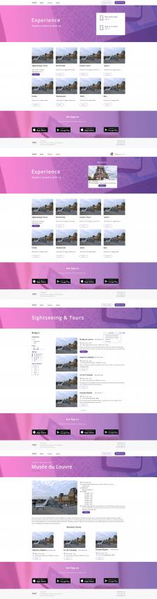 Сервис по подбору туров и объектов