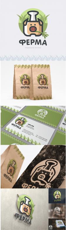 """Логотип для кафе """"Ферма"""""""