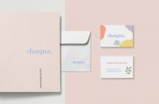 Identity for skincare brand
