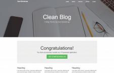 Блог на PHP +Yii2