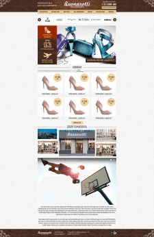 Front-end разработка интернет-магазина.