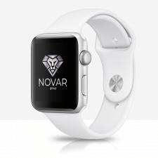 Логотип Novar Groupp