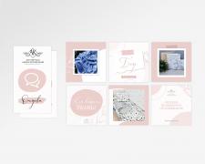 Шаблоны для ленты и хайлайтс Instagram
