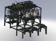 Металлоконструкции обогатительной фабрики