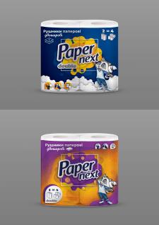 Упаковка на бумажные полотенца