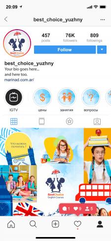 Логотип+создание стиля для инстаграм