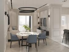 Дизайн гостинной в смешанном стиле