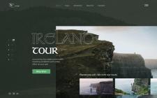 Дизайн сайта для покупки туров в Ирландию